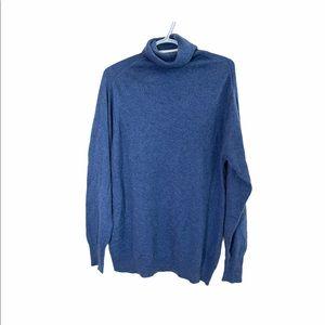 Antoine Peres 100% Cashmere turtle neck sweater